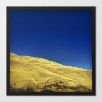Golden Hillside Canvas Print