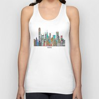 Memphis city Unisex Tank Top