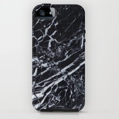 Real Marble Black iPhone (5, 5s) Tough Case
