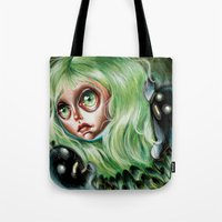 Mother of Spirits :: Pretty Little Scamps Tote Bag