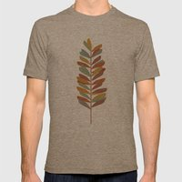 Branch 2 Mens Fitted Tee Tri-Coffee SMALL