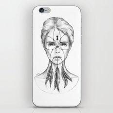 Dreamkeeper (B/W) iPhone & iPod Skin