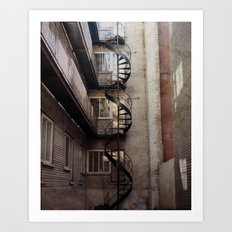 Serpent City Art Print