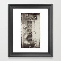 M&M Framed Art Print