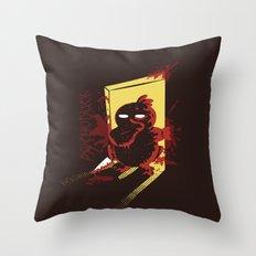 Psychoduck Throw Pillow