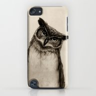 Owl Sketch iPod touch Slim Case