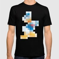 mosaic Mens Fitted Tee Black SMALL