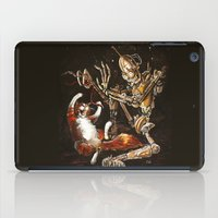 Robot And Cat In The Wil… iPad Case