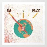 Low On Peace Art Print