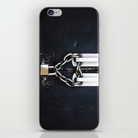 Locked by Love iPhone & iPod Skin