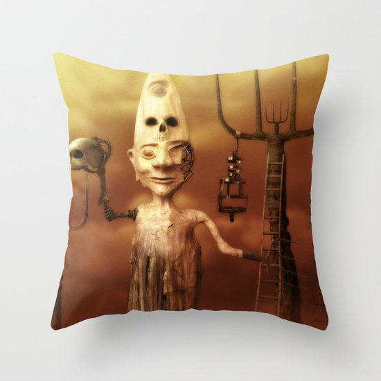 Pesonal Pandemonium Throw Pillow