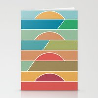 4 Degrees Stationery Cards