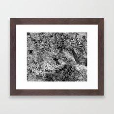 Scribbler Framed Art Print