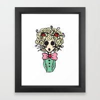 Ms Meow Framed Art Print