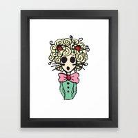 Ms Meow Framed Art Print