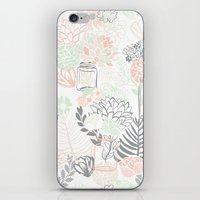 Cucumber Peaches And Cre… iPhone & iPod Skin