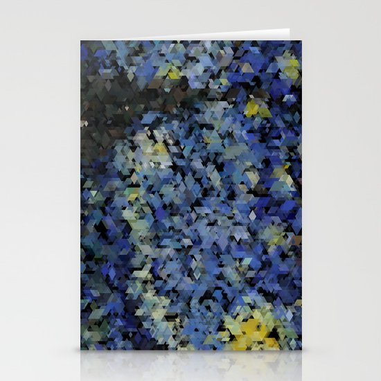 Panelscape Iconic - Starry Night Stationery Card