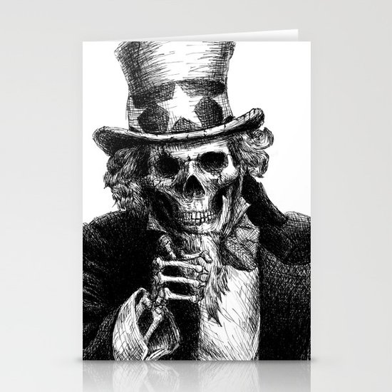 Uncle Sam Stationery Card