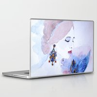 lady Laptop & iPad Skins featuring Lady by S.Svetlankova