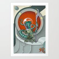 Astro Zodiac Force 06: S… Art Print