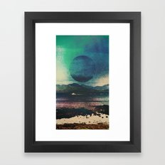 Fluid Moon Framed Art Print