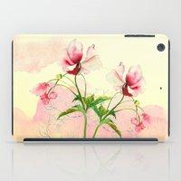 flower love iPad Case