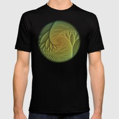 Innie and Outie SMALL Mens Fitted Tee Black