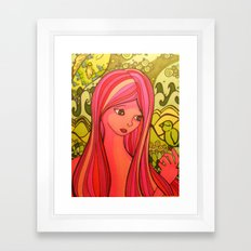 girlie girl   Framed Art Print