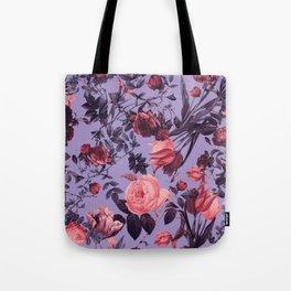 Tote Bag - Romantic Floral Pattern - Burcu Korkmazyurek