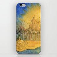 Sand Castle iPhone & iPod Skin