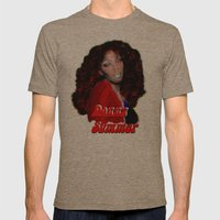 Donna Summer Mens Fitted Tee Tri-Coffee SMALL