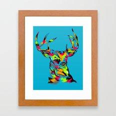 Buck Framed Art Print