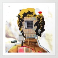 Rebuild Marilyn´s Head … Art Print