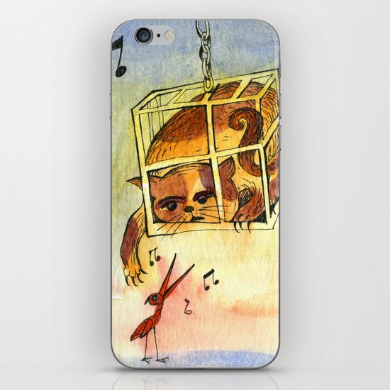 Annoying situation iPhone & iPod Skin