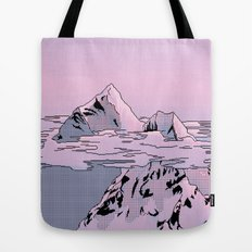 Lavender Sunset Tote Bag