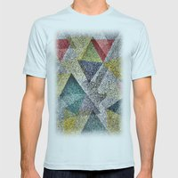 Rock Night Mens Fitted Tee Light Blue SMALL