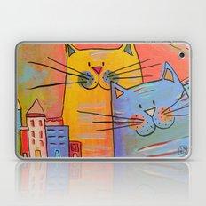City cats Laptop & iPad Skin