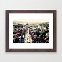 Gdansk, Poland Framed Art Print