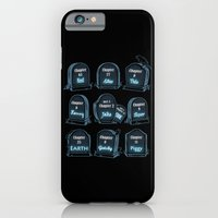 Spoiler Graveyard iPhone 6 Slim Case