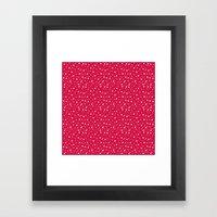 Let it snow... Framed Art Print