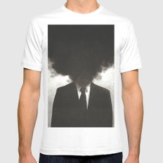 Confessions of a Guilty Mind. Mens Fitted Tee SMALL White