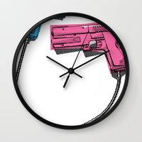 dual-wielding Wall Clock