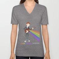 Radiohead Thom in Rainbows Unisex V-Neck