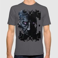 The Riddick Mens Fitted Tee Asphalt SMALL