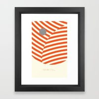 Love and Collision Framed Art Print
