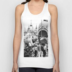 Birds of a Feather - St. Marks Square Italy Unisex Tank Top