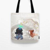 Consumption Tote Bag