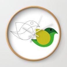Bird is the word Wall Clock