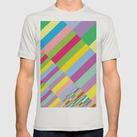 Stairs to Office  [COLORS] [COLOR] [COLORFUL]  Mens Fitted Tee Silver SMALL