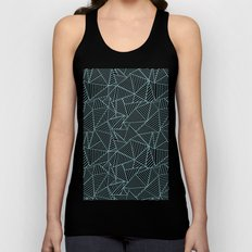 Ab Lines Salt Water Unisex Tank Top